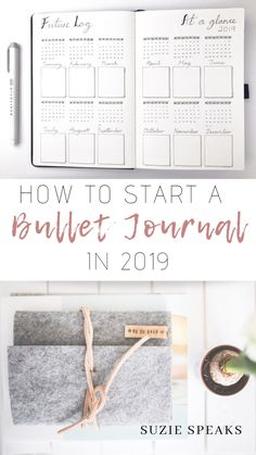 How to Start a New Bullet Journal Want to start a Bullet Journal in Here are some useful ideas and tips about creating your own Bullet Journal for the New Year, with different spread and tracker ideas and resources to use! Bullet Journal Yearly Spread, Bullet Journal 2019, Bullet Journal Notes, Bullet Journal How To Start A, Bullet Journal Layout, Bullet Journal Inspiration, Bujo, Birthday Scrapbook, Bulletins