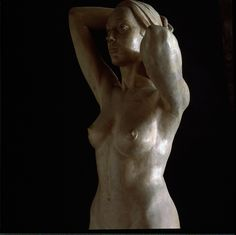 'Laura' by Jorge Egea Wood (front view)