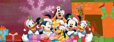 Disney Christmas Facebook Cover - FaceCoverz.com