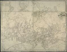 Map of the city of Lynn Massachusetts