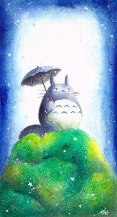 Tonari no totoro Anime Manga kawaii cute mein Nachbar Totoro Hayao Miyazaki, Sky Anime, Anime Art, Personajes Studio Ghibli, Film Animation Japonais, Japanese Animated Movies, Cute Disney Drawings, Studio Ghibli Art, Girls Anime