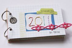 Month In Review mini book