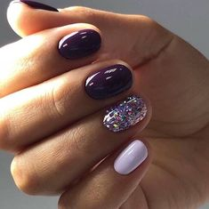 Nail art Christmas - the festive spirit on the nails. Over 70 creative ideas and tutorials - My Nails Fabulous Nails, Gorgeous Nails, Love Nails, Fun Nails, Pretty Nails, Pretty Makeup, Simple Makeup, Nagel Hacks, How To Grow Nails