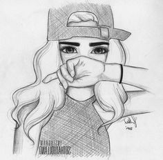 drawing girly drawings sketches easy pencil shading cool sketch friends