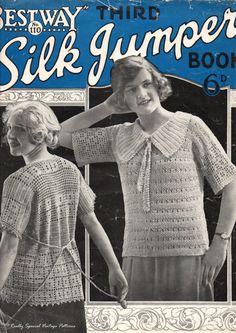 1920's Bestway Silk Jumpers Book Vintage by PamoolahVintage, $5.50