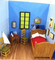 Gogh Vincent van - \'Vincent\'s Bedroom in Arles\'   Vincent van Gogh ...