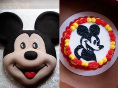 Mickey Mouse birthday cake and smash cake!