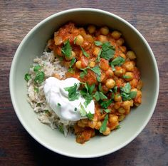 what's for dinner?: Spicy Chickpea Curry
