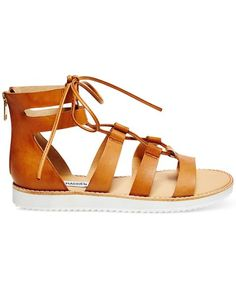 Gladiator sandals add instant Cali cool to a white linen dress or a pair of ripped denim shorts (see: Kendall Jenner). Shop the 20 best pairs, including these Steve Madden Marvell Lace-Up Gladiator Sandals.