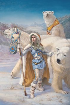 """""""The White Bear King Valemon"""" An Old Norwegian Fairytale - First Published (1852)"""