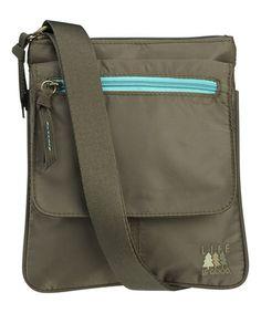 Love this Dark Olive Crossbody Bag on #zulily! #zulilyfinds  http://www.zulily.com/invite/happyday