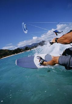 Kiteboarding - I can't wait to do this.