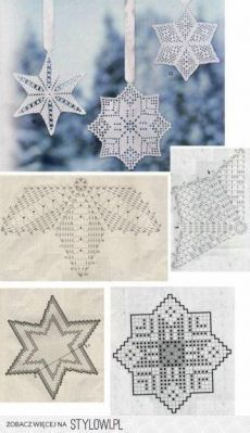 Best 12 Star Christmas: crochet ornaments – with diagram by Jeroen En Franciska Jonkman – SkillOfKing.Com Best 12 Star Christmas: crochet ornaments – with diagram by Jeroen En Franciska Jonkman – SkillOfKing. Filet Crochet Charts, Crochet Diagram, Crochet Motif, Crochet Doilies, Crochet Flowers, Crochet Lace, Crochet Christmas Decorations, Crochet Decoration, Crochet Ornaments
