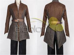 The Hobbit Legolas Cosplay Costume Daily Brown Coat Full Set #Unbranded #CompleteCostume