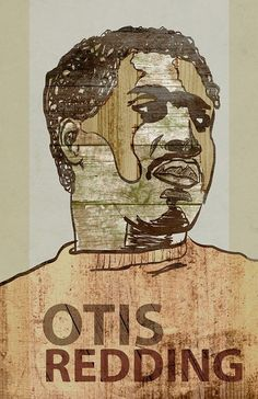 Otis Redding Poster by artist Jackson