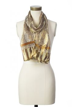 Type 3 Glistening Cheetah Scarf - Accessories