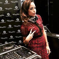 Stunning @djsarahjane rocking the decks at @proplayermag VIP event in our London Flagship Store! - Shop now for thomassabo > http://ift.tt/1Ja6lvu