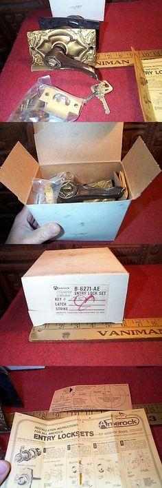 Door Locks and Lock Mechanisms 180966: Amerock Carriage House Monterey Collection Entry Door Lock Set Nos 60S F Sh -> BUY IT NOW ONLY: $89.99 on eBay!