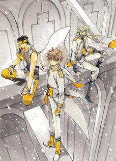 CLAMP, Bee Train, Tsubasa Reservoir Chronicle, Album De Reproductions 2, Fay D. Flourite