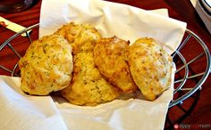 The Stew food blog: Ten @ 10: The foods of childhood reconsidered (Not a byline. I just added my two cents. And I could eat this biscuits right through the computer. Yum! If I was still a pescatarian, I'd jump in my car right now and head to Red Lobster.)