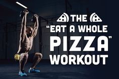 If you're really looking to burn off that pizza, you'll have to put in some serious work.