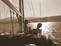 evening/ Geormar- Jeanneau Sun Odyssey 42ft Chios, Sailing, Greece, Sun, Boating, Solar