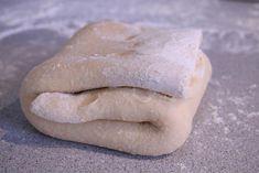 Hajtogatott tészta Bread, Food, Brot, Essen, Baking, Meals, Breads, Buns, Yemek