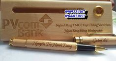 Quà tặng doanh nghiệp - doanh nhân ★★★ Bút gỗ khắc logo doanh nghiệp ★★★