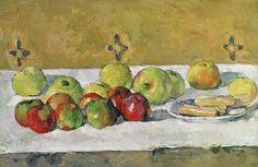 Pommes et biscuits (P Cézanne - R 327) | Huile sur toile, 37… | Flickr