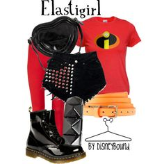 """Elastigirl"" by leslieakay on Polyvore"