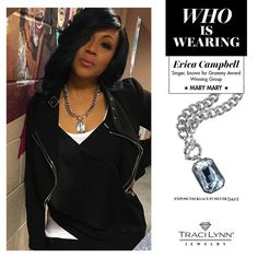 Erica Campell from Gospel Group Mary Mary Traci Lynn Fashion Jewelry, Chic Backpack, Erica Campbell, Curvy Girl Fashion, Fall Winter Outfits, Celebrity Style, Mary Mary, Feminine, Stylish