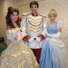 Throwback to Celebrate A Dream Come True! #belle #beautyandthebeast #cinderella #princecharming #prince #princess #disneyprincess #princessbelle #royal #magical #magickingdom #mk #wdw #waltdisneyworld #disneyworld #disney