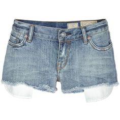 AllSaints Haru Lowe Shorts ($95) ❤ liked on Polyvore