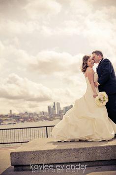 Gasworks Park Wedding Seattle Photographer Kaylee Eylander