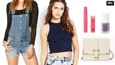 Crop Top + Shorteralls = Casual Cool #forever21