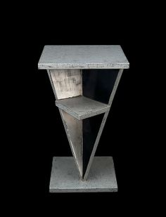 Table by Jean Dunand, 1928, Lacquered wood & white gold