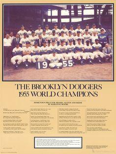 Rubin Pfeffer- The Brooklyn Dodgers 1955 World Champions