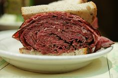 A Real NY Pastrami Sandwich!! - From Ben's Kosher Deli (Pic by Harris Graber) Mouth watering!