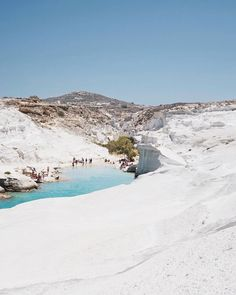 The unique kind moonscape beach in the World ! Milos island (Μήλος) , Sarakiniko beach