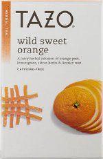 Tazo Tea UK Supplier of Tazo Wild Sweet Orange tea and many more�