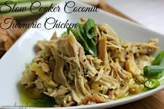Slow Cooker Coconut Turmeric Chicken - Low Carb - (turmeric recipe) - metabolism booster