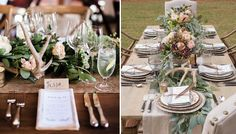 Antler Decor To Replicate » Alexan Events | Denver Wedding Planners, Colorado Wedding and Event Planning