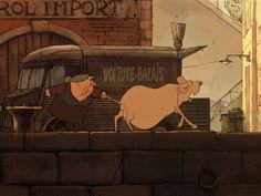 LES TRIPLETTES DE BELLEVILLE (2003) on Vimeo