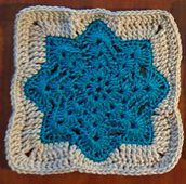 Ravelry: Round Ripple Afghan Square pattern by Julie Yeager