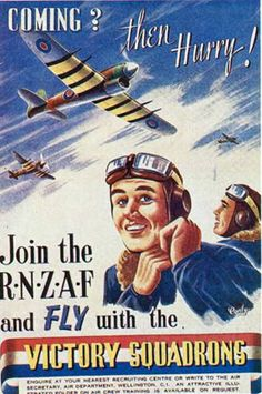 A 1943 Recruiting Poster for the RNZAF