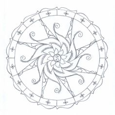 printable mandala coloring pages tagged with advanced mandala coloring pages