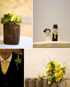 yellow tie?!