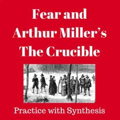 "Using Arthur Miller's essay, ""Tragedy and the Common Man,"" and his play, The Crucible, students will review significant rhetorical devices and appeals. They will close read and annotate the text, interact with supporting video clips such as an expose on modern witch-hunting in India, listen to an NP... Rhetorical Device, Modern Witch, English Language Arts, Close Reading, English Language"