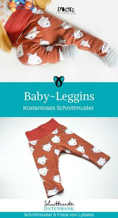 Baby leggings - Nähen - Baby leggings sewing for babies gifts sewing ideas baby free sewing patterns free sewing instruction - Sewing Patterns Free, Free Sewing, Baby Patterns, Sewing For Kids, Baby Sewing, Sewing Hacks, Sewing Tutorials, Sewing Tips, Sewing Ideas