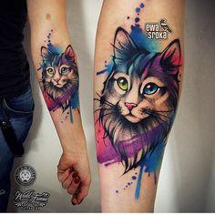 cat tattoo designs for cat lovers - cat tattoo - . 100 cat tattoo designs for cat lovers - cat tattoo - cat tattoo designs for cat lovers - cat tattoo - . Cat Paw Tattoos, Girly Tattoos, Trendy Tattoos, Animal Tattoos, Sexy Tattoos, Body Art Tattoos, Small Tattoos, Tattos, Arrow Tattoos
